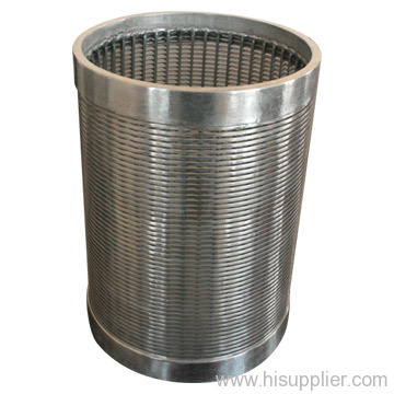 wedge wire wrap well pipe screen