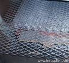 galvanized flattened expanded metal panel