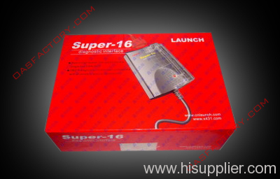 Super 16 diagnostic interface