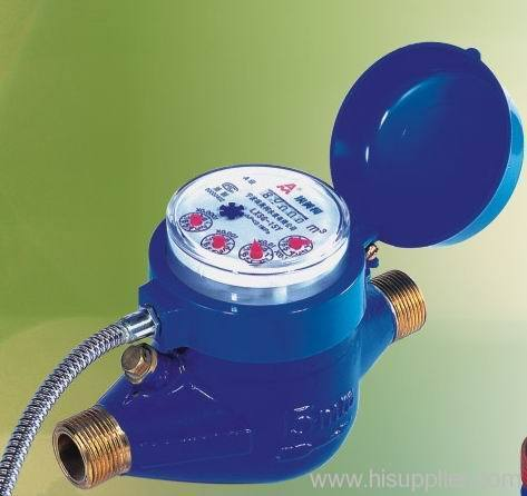 Rotory Type Dry Water Meter With Signal Transmission