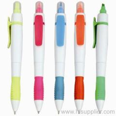 2 in1 ball pen and highlighters