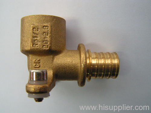 brass(DZR) compression fittings for PEX pipes