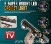 9 super bright LED light