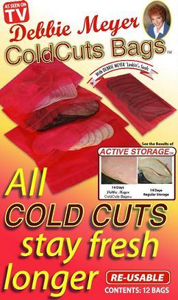 Debbie Meyer Cold Cuts Bags
