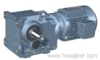 TK series bevel-helical gearbox