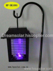 Solar mosquito lamps can brake