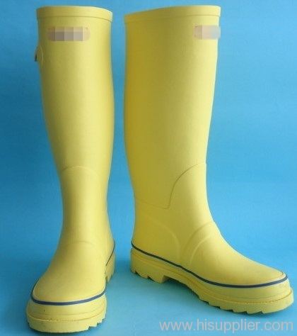 ladies fashion rubber rain boots
