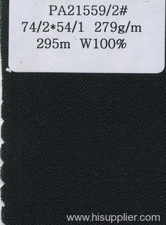 pure wool serge worsted fabric