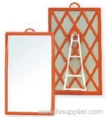 Plastic gridding mirror