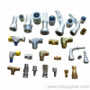 hydraulic fitting, adapter and coupling