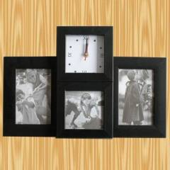 3photo frame+clock