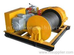 electric winch for lifting and pulling