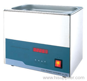 Unheated Stainless Steel Ultrasonic Benchtop Cleaning Unit