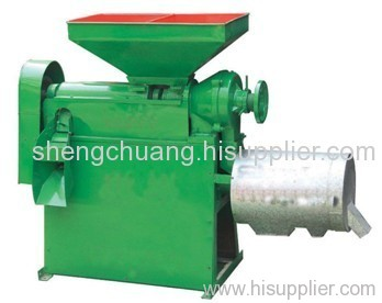Corn grain peeler and flour grinder machine