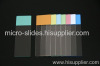 Color Frosted Microscope Slide
