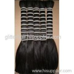Double drawn chinese human hair