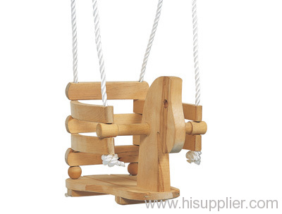 Wooden Swing Swings Kid Garden Baby