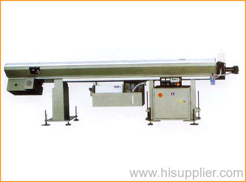 Hydraulic automatic bar feeder