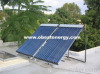 Split Pressure Solar Collector