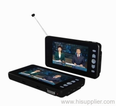 7 Inch Portable Digital TV|Portable DVB-T TV