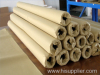 Hot melt adhesive web