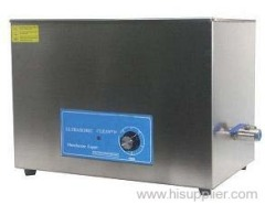 Mechanical Timing Ultrasonic Ultra Hard Materials Cleaner