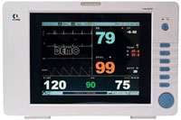 Multi-parameter Hanging Wall Patient Monitor