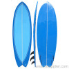 Epoxy Surfboard blue deck