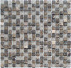 Crystal mix Marble Mosaic with pattern