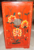 reproduction antique painted cabinet