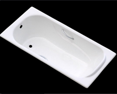 Enamel bathtubs