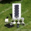 solar kit with USB to charge cell phone