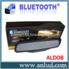 Bluetooth handsfree car kit rearview mirror + SD card and MP3 play