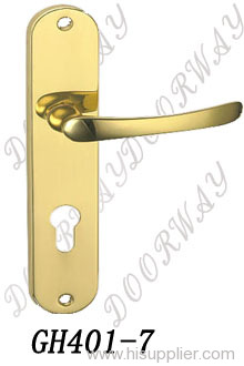 brass doorhandle