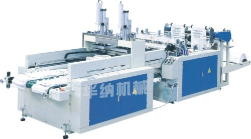 DFR-350*2/450*2 Full Automatic High Speed t shirt bag making machine