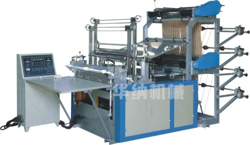 SHXJ-B Computer Heat sealing Cold Cutting Bag making Machine