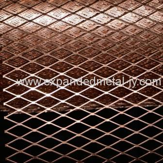 Copper Coated Expanded Metal