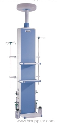 Ceiling Mounted ICU Medical Gas Supplying Pendant Column