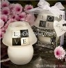 LOVE Lamp Craft Candle