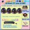 Dome camera, ir camera, cctv camera, security dome camera