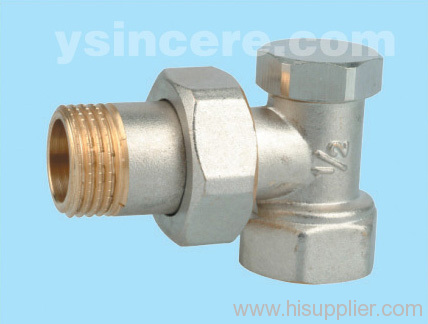 Brass Radiator Valve Forged Body