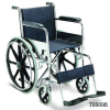 Economy Stainless Steel Wheelchair