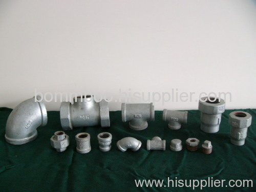 malleables cast iron pipe fitting