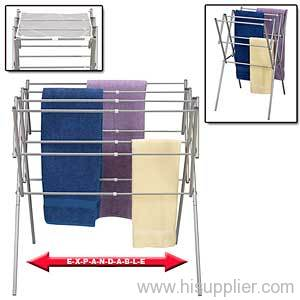 Expandable Drying Rack Folding Metal Clothes Dryer