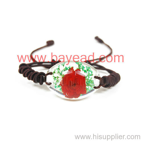 real flower Bracelet Fashional Jewelry