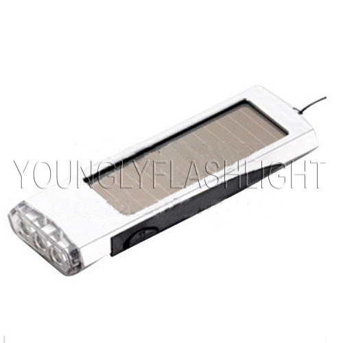 3 LEDs Solar Flashlight