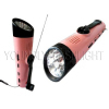 5 LEDs Radio Flashlight