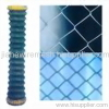 PVC-sprayed chain link fencing