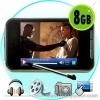 Touchscreen MP4 Player + Video Camera
