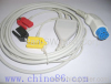Artema/S&W one piece three lead ECG cable